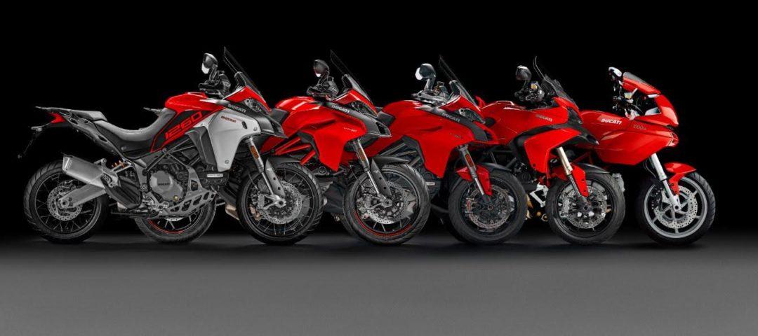 Ducati Multistrada Sales Reaches 1 Lakh Globally