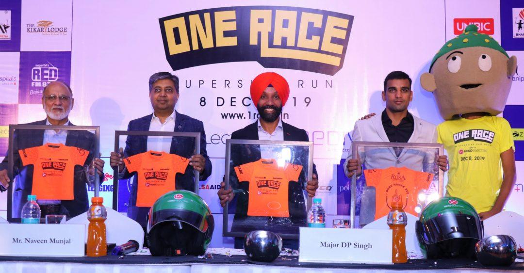 (L-R) Sohinder Gill, Naveen Munjal, Major DP Singh, Mandeep Jangra