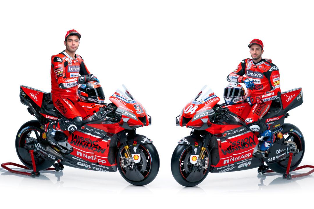 Andrea Dovizioso & Danilo Petrucci - Ducati Team 2020