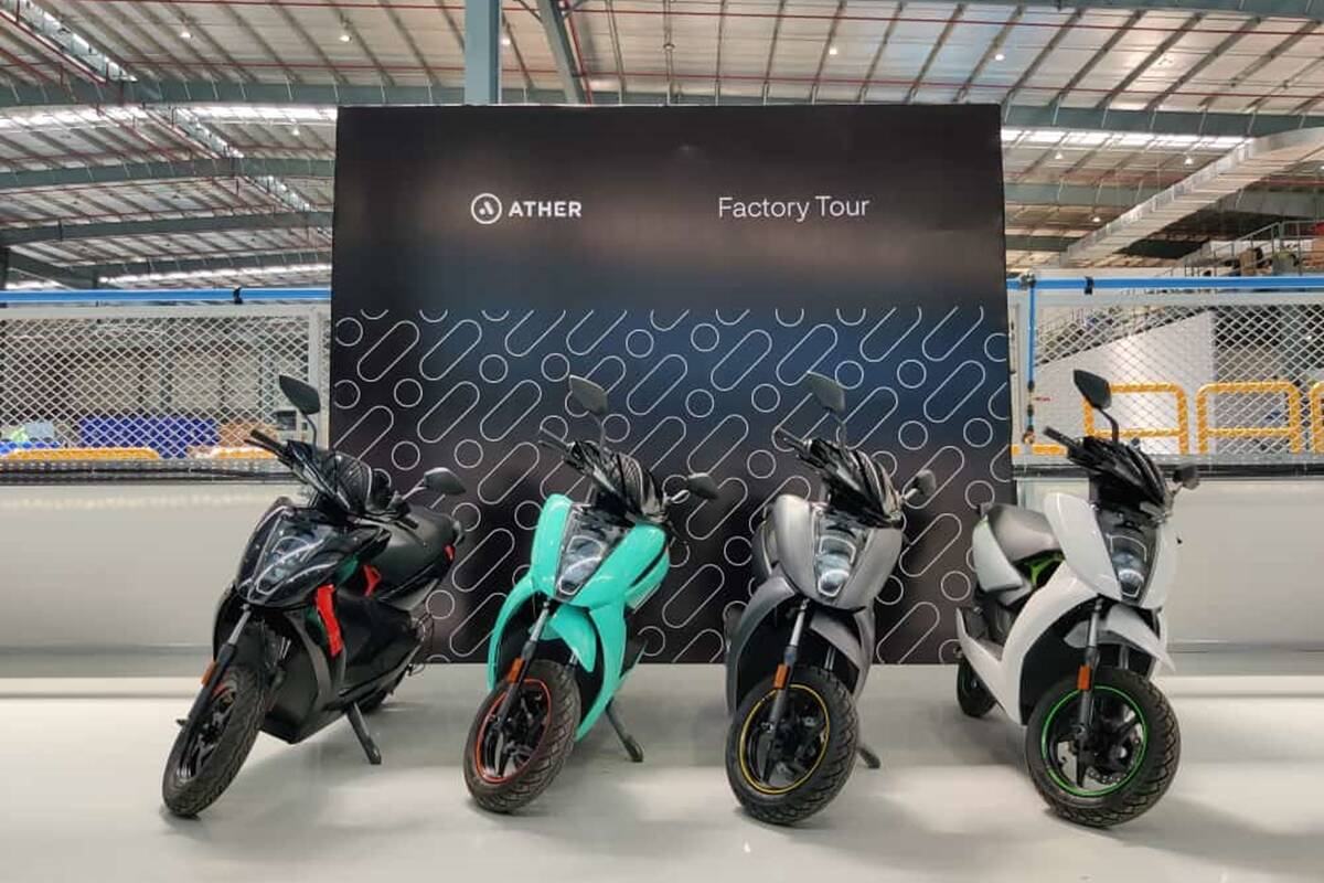 Ather is said to be working on an affordable E-Scooter