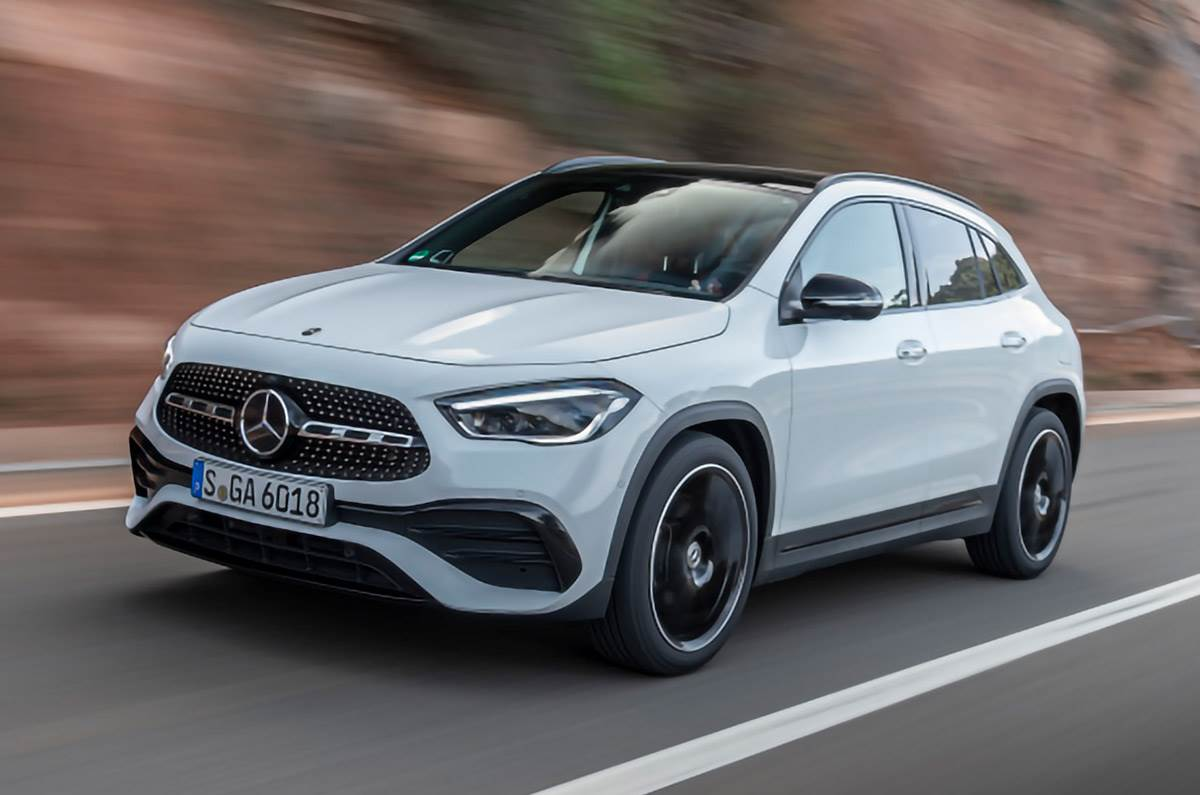 2021 Mercedes GLA launched