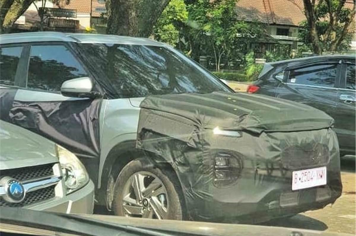 Hyundai Creta facelift spotted