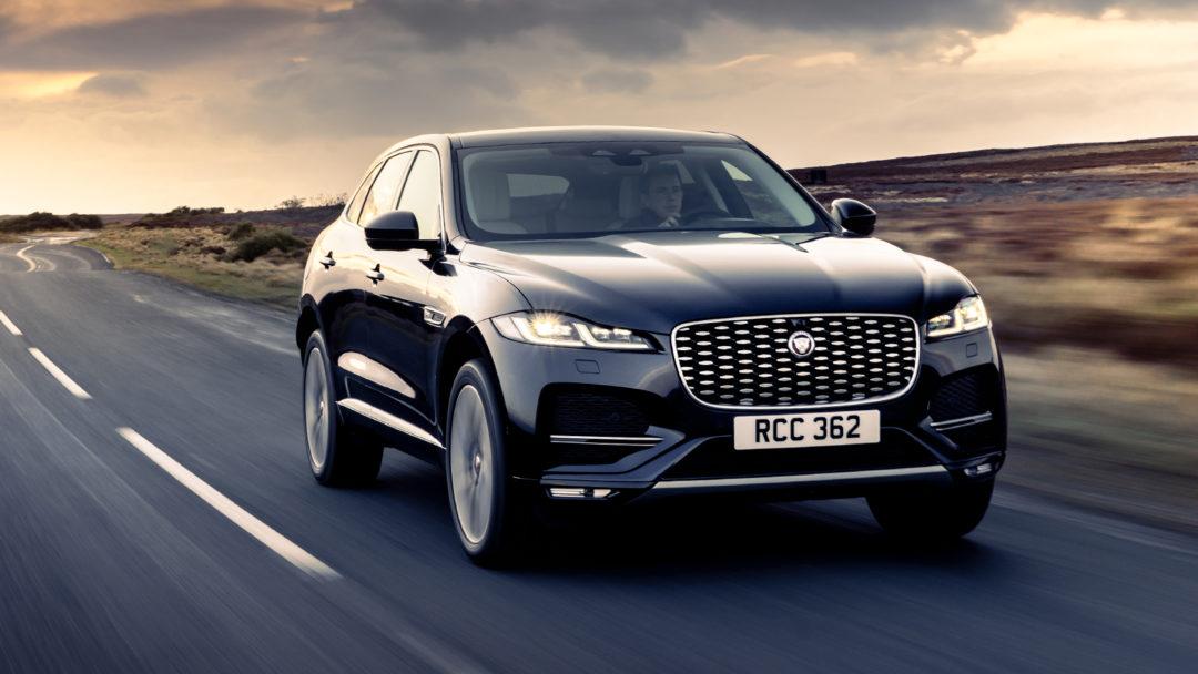 New Jaguar F-Pace introduced