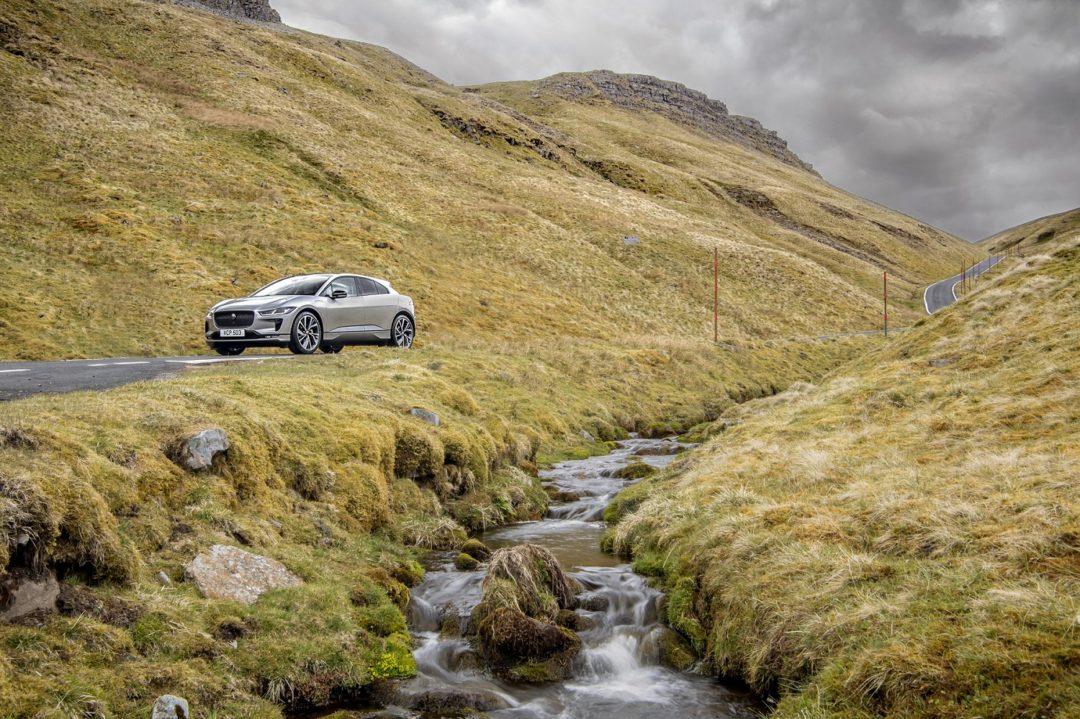 Jaguar I-Pace EV completes