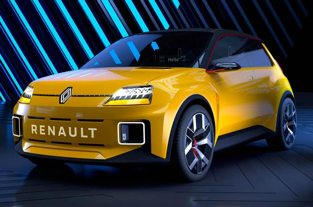 2021 Renault 5 Prototype EV hatchback revealed