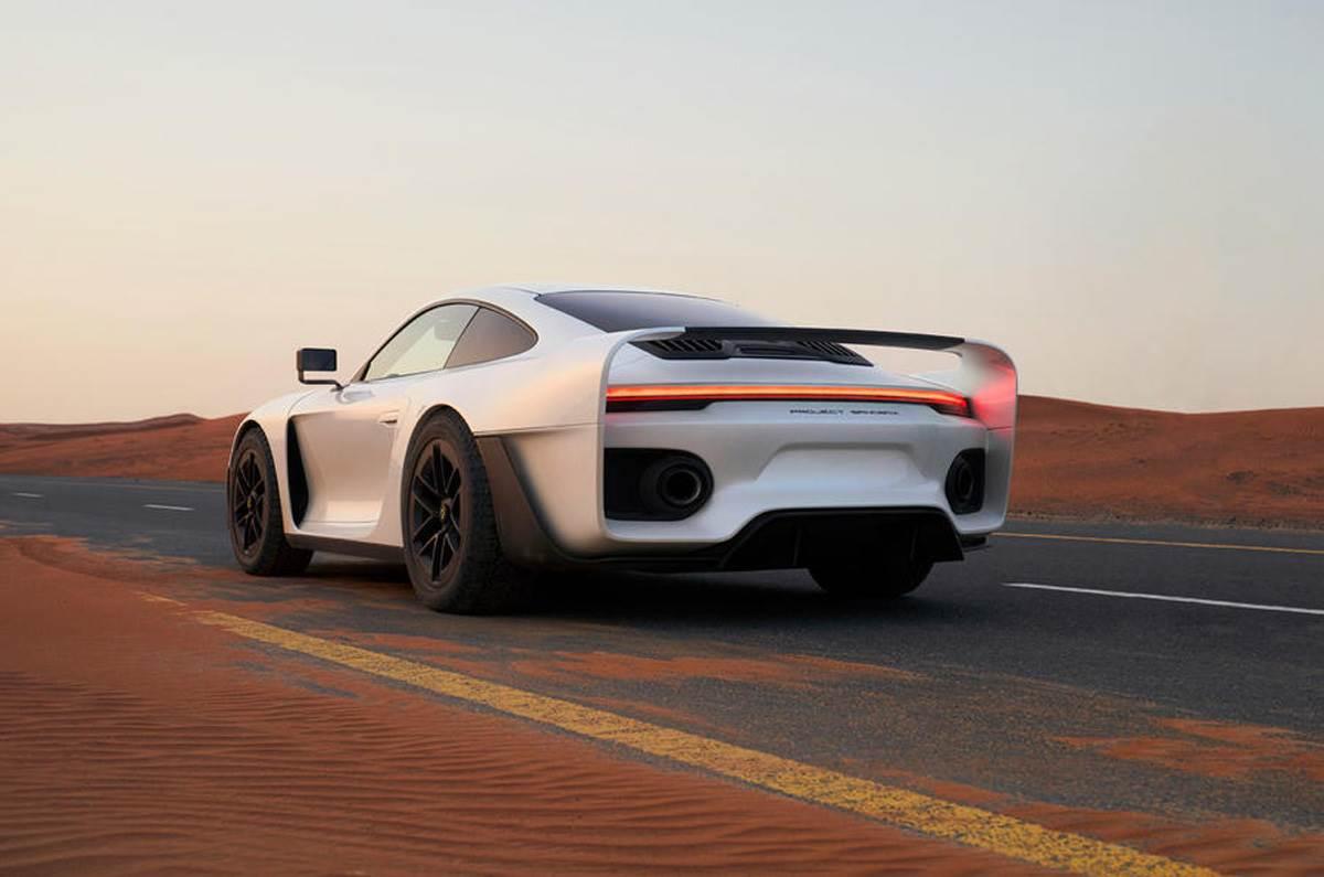 Gemballa Marsien based on Porsche 911