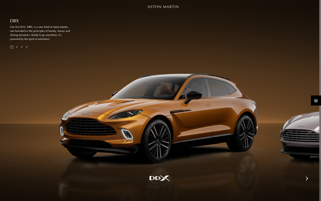 Aston Martin launches their new online