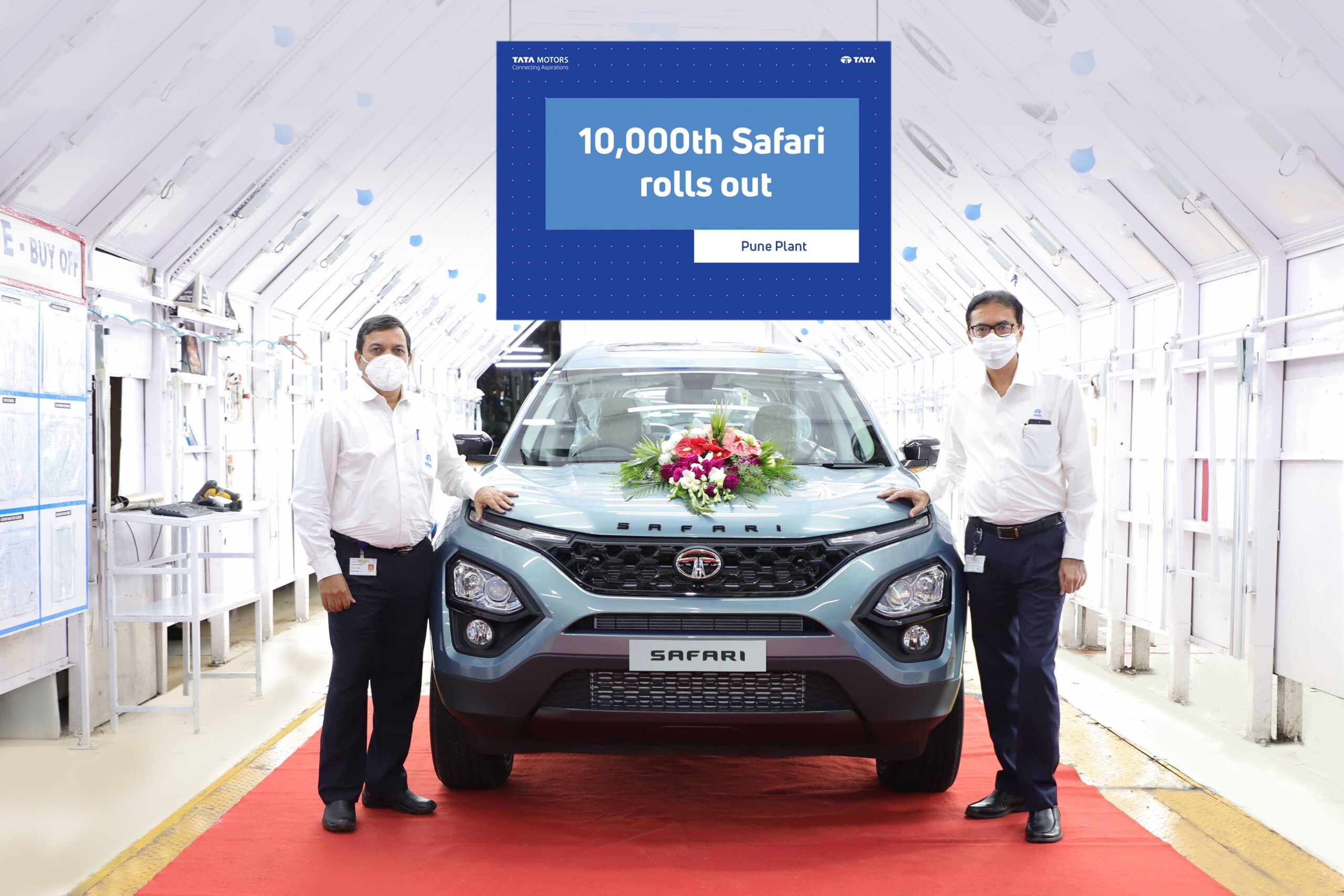 Tata Safari crosses 10,000th sale mark to make its first milestone within five months