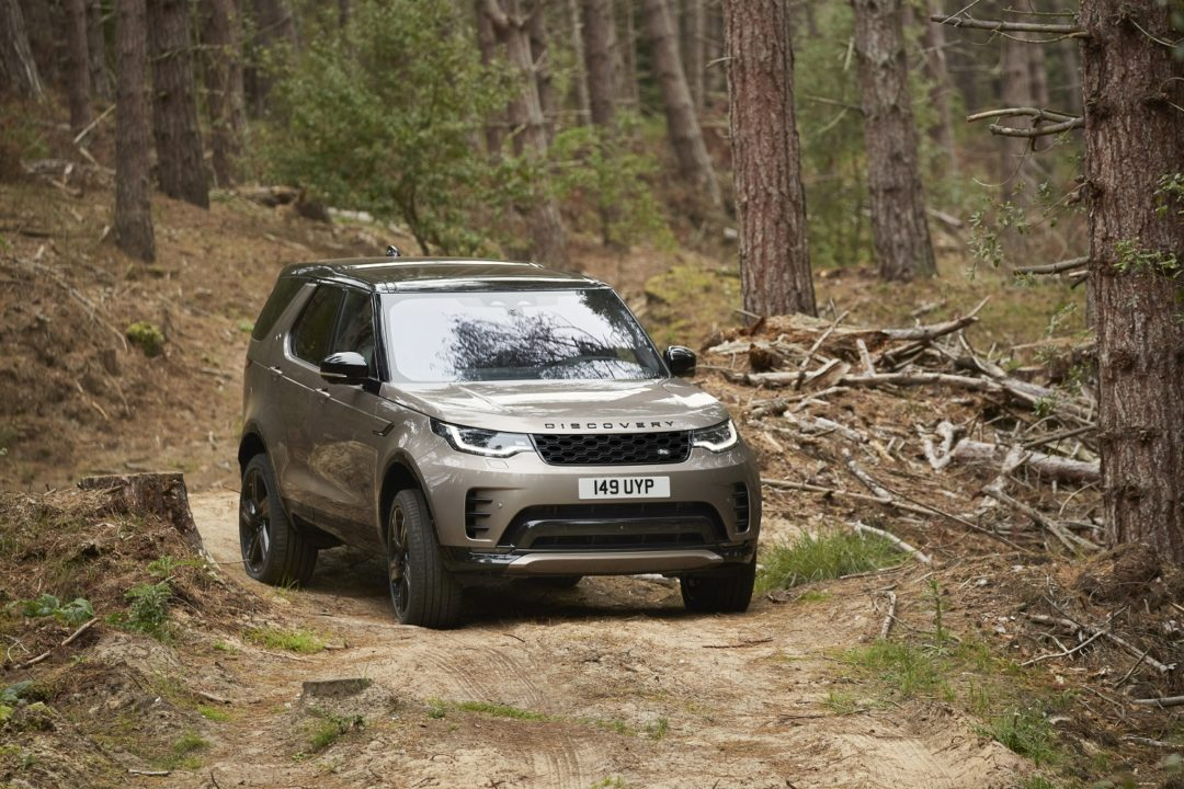 Land Rover Discovery, a Seven-Seater