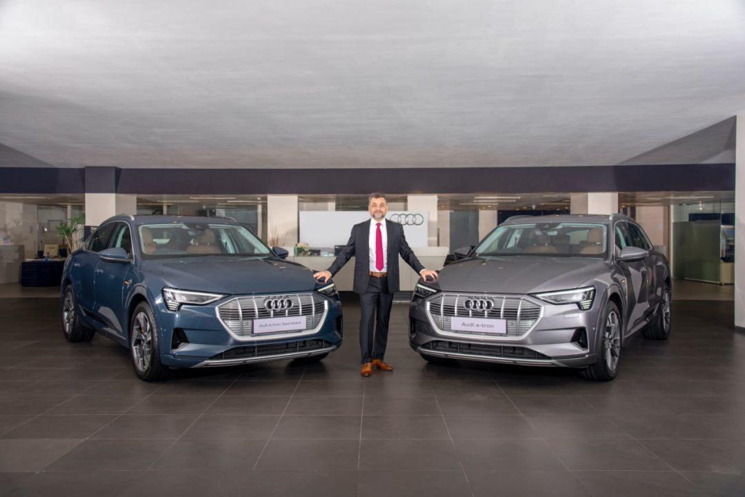 Audi launches three new Audi e-tron