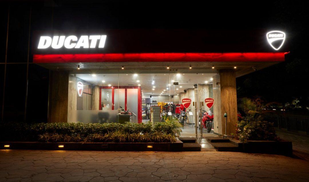 Ducati inaugurates its new dealership in Pune