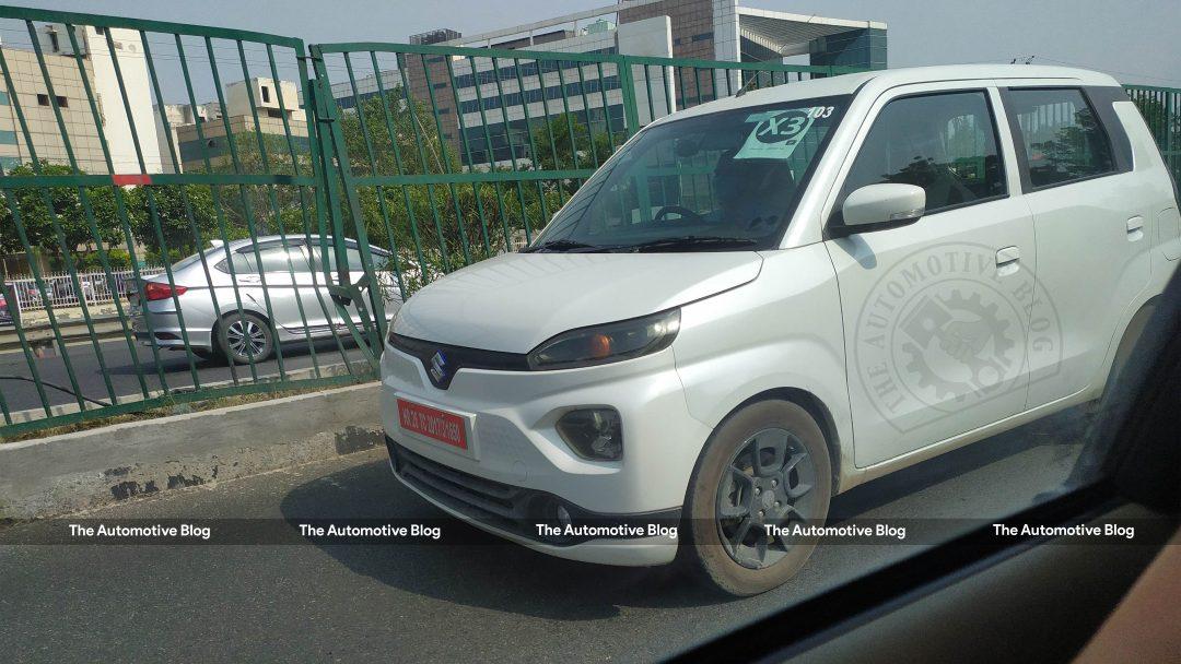 EXCLUSIVE Maruti Suzuki Wagon R EV spotted