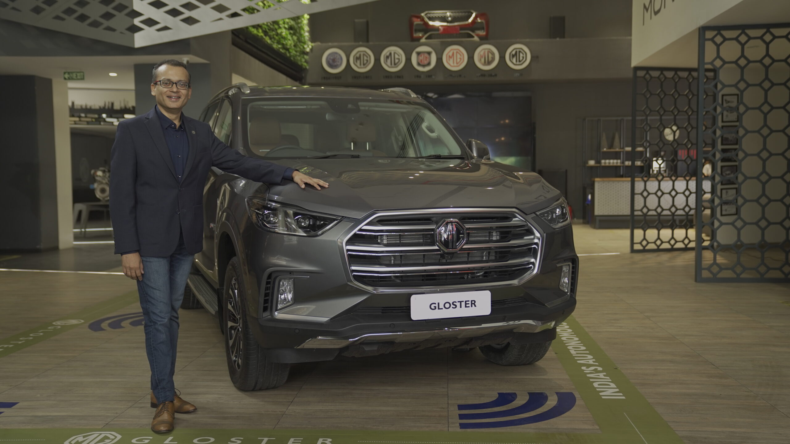 MG Motor launches 7-seater Gloster