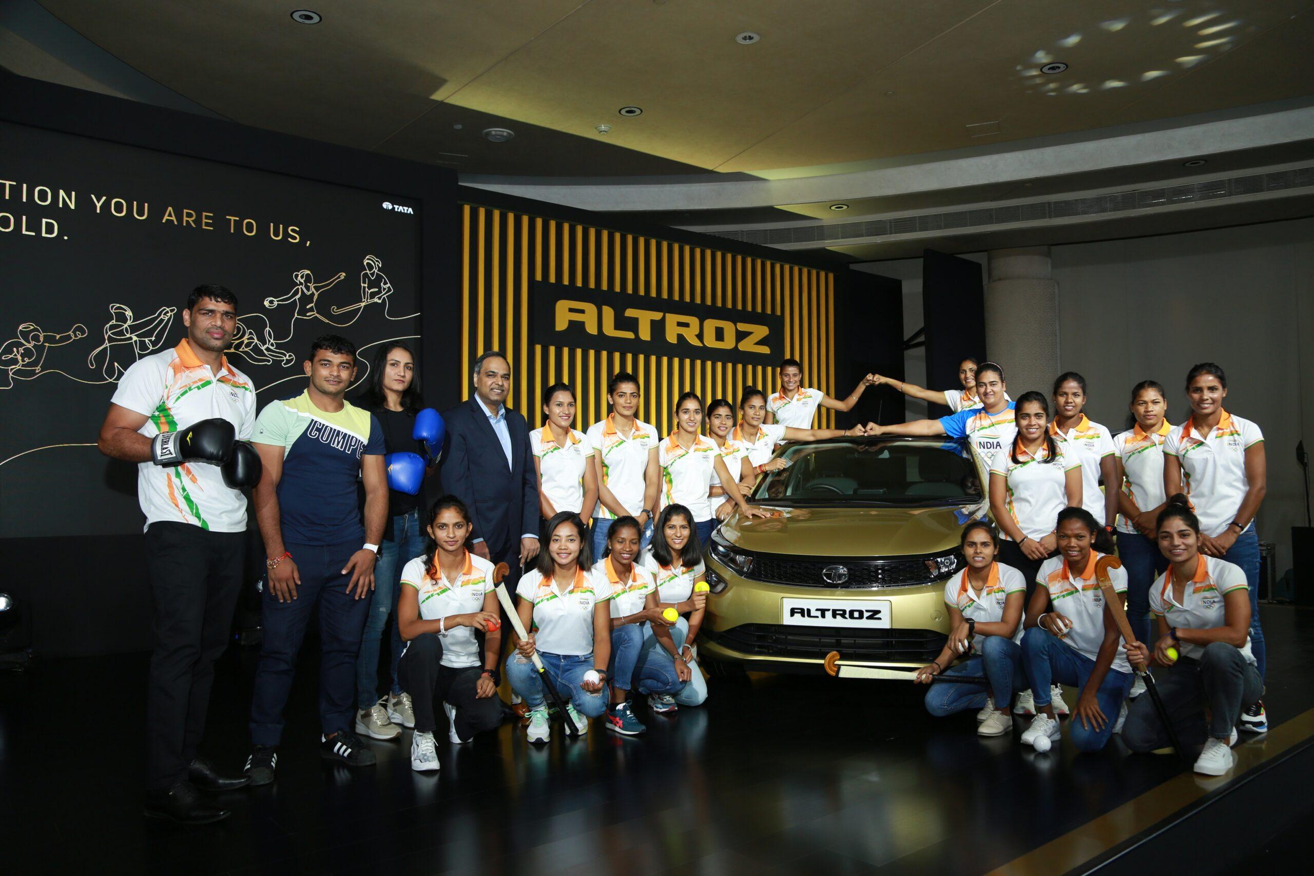 Tata Motors honors Olympians
