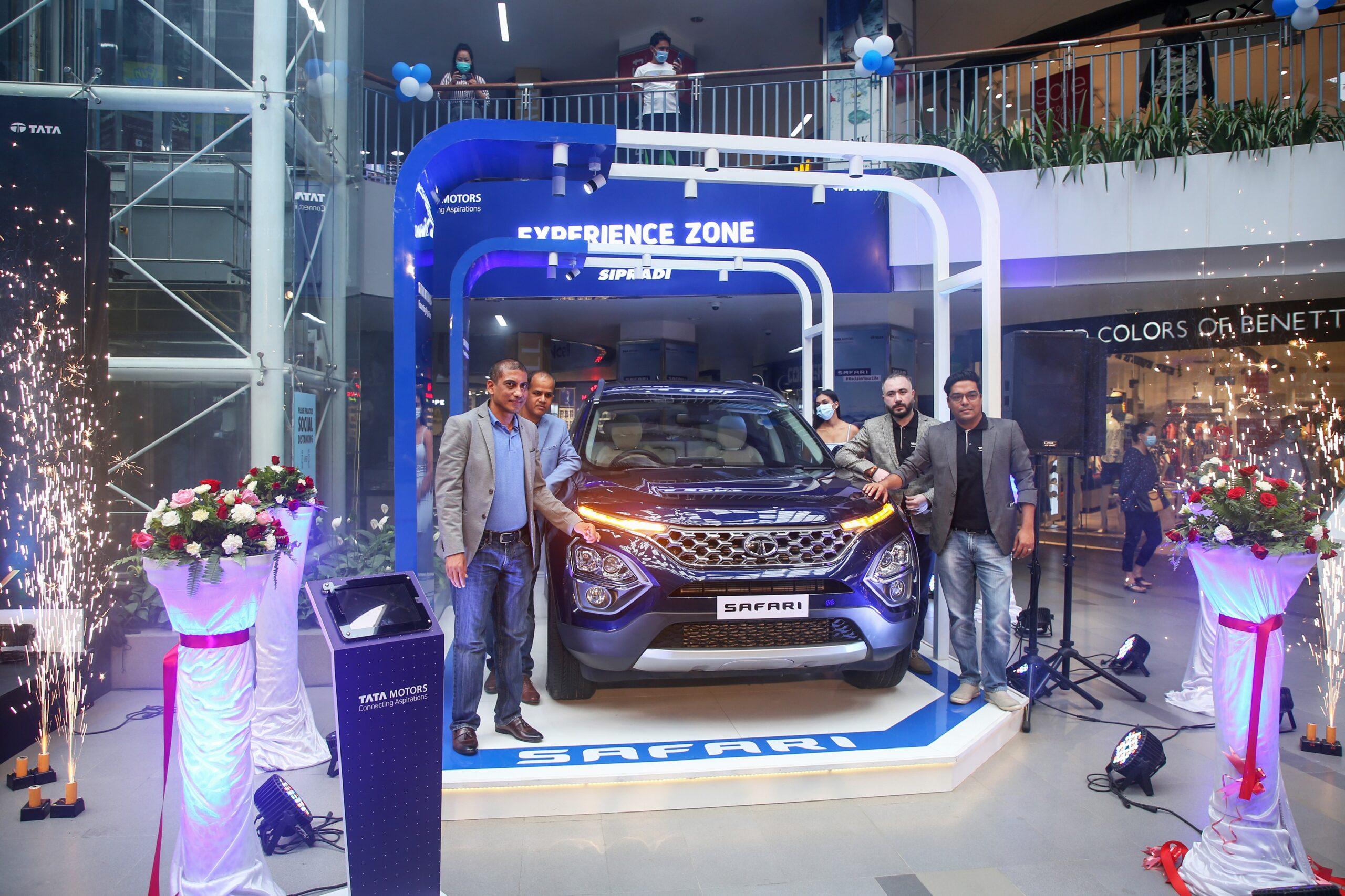 Tata Safari debuts in the Himalayan