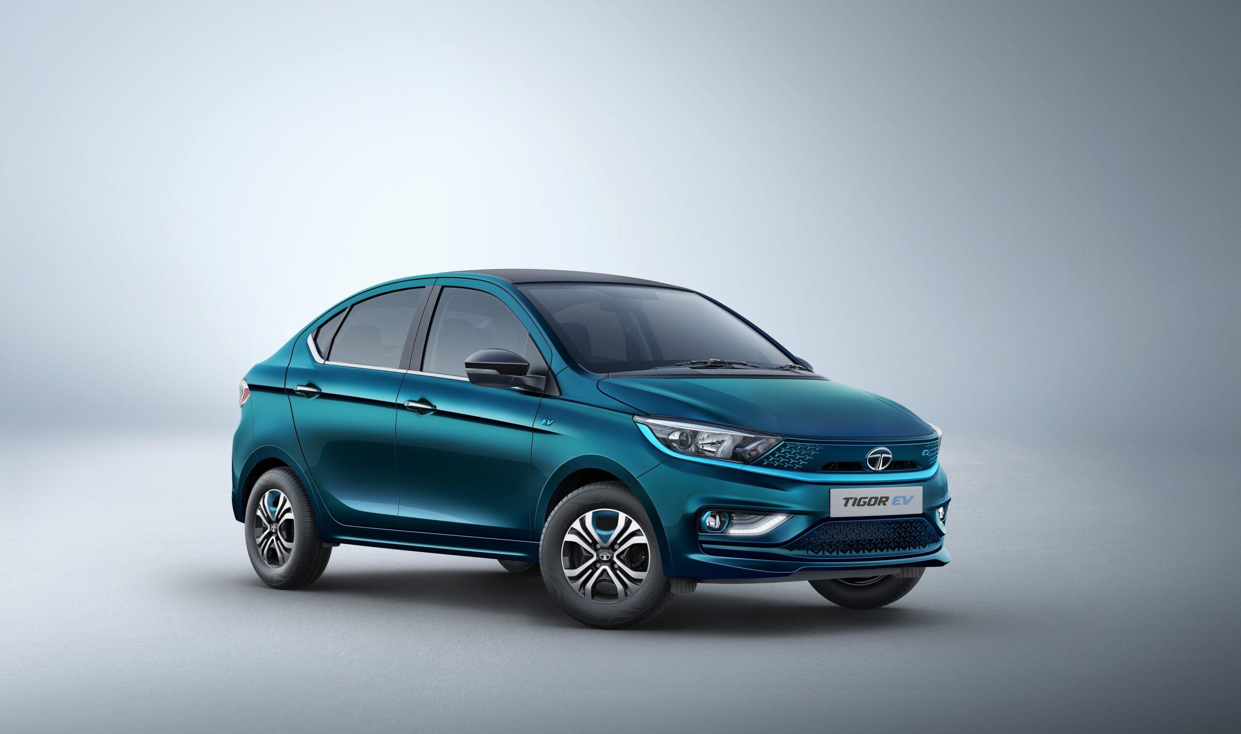 Tata Motors unveils its new Tigor