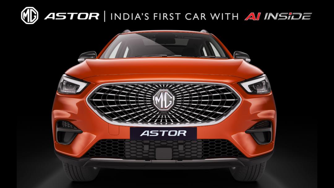 MG introduces Astor SUV