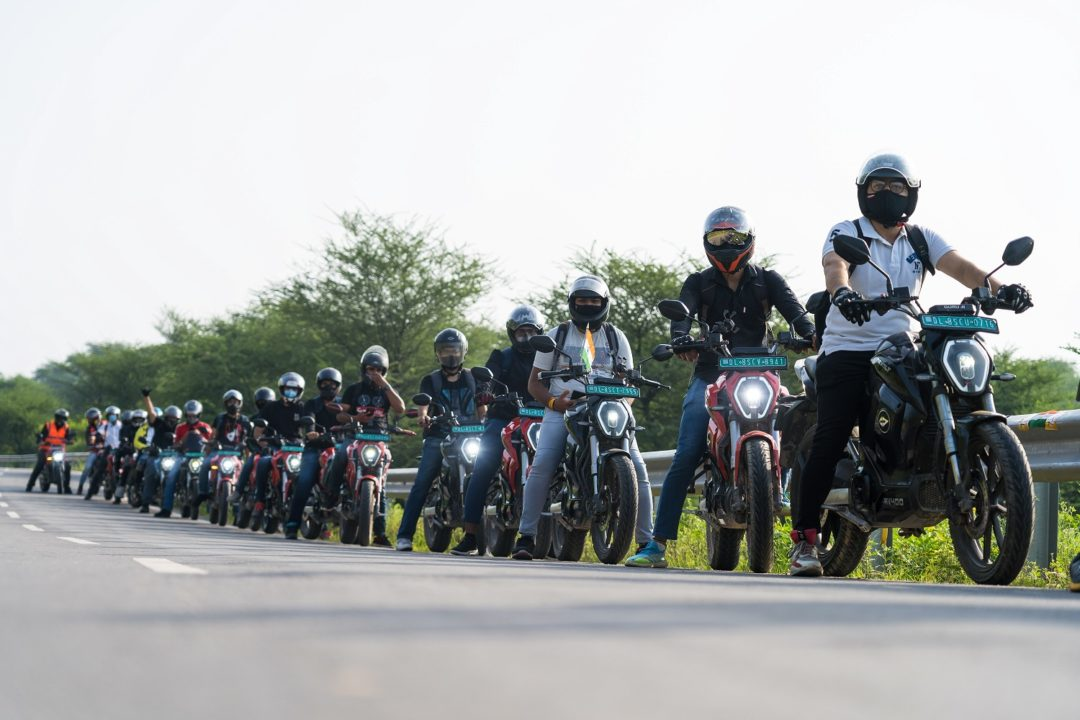 Revolt Motors organizes their First Community