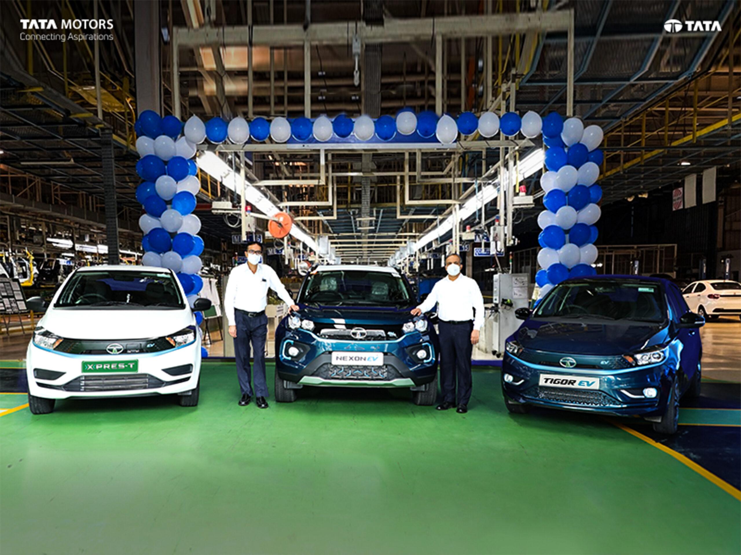 Tata Motors celebrates on their milestone