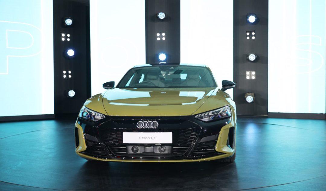 Audi launches e-tron GT